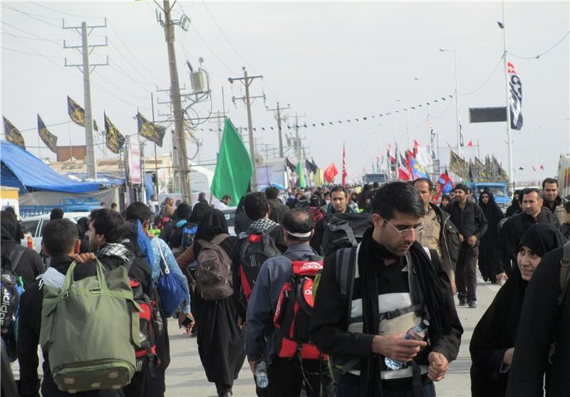 ثبت نام کنندگان اربعین از ۹۰ هزار نفر گذشت/تردد زائران فقط از ۳ مرز رسمی/نیروی انتظامی امکان افزایش تعداد مرزهای خروجی را رد کرد