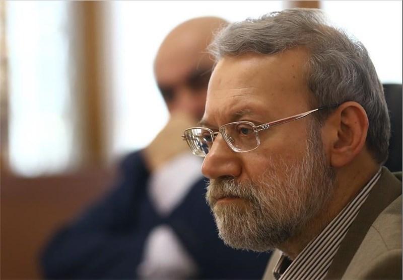 واکنش لاریجانی به فریادهای ظریف در جلسه دیروز مجلس