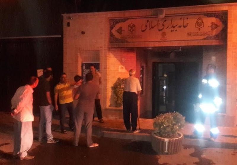 جزئیات جدید از آتش سوزی بخشی از خانه بیداری اسلامی به دست عوامل ناشناس/ به اسناد تاریخی خانه آسیبی نرسید