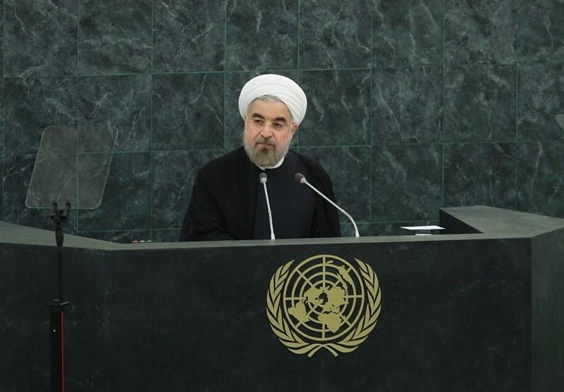"""روحانی: """"تعلل"""" آمریکا در اجرای برجام فوراً جبران شود/ """"اهمال"""" ایالات متحده تخلفی بینالمللی تلقی میشود"""