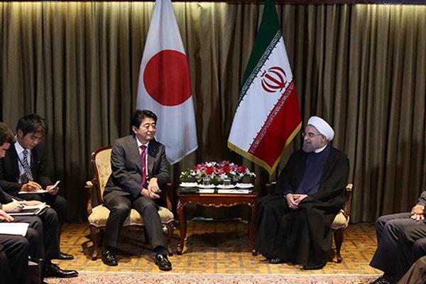 در دیدار روحانی با نخست وزیر ژاپن چه گذشت؟