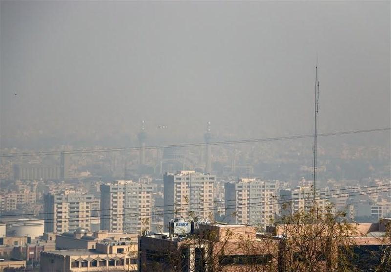 وضعیت هوای اصفهان در شرایط «ناسالم» قرار گرفت