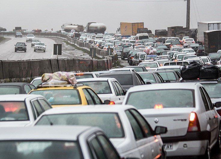 تردد جادهای در استان اصفهان ۱۰ درصد افزایش یافته است
