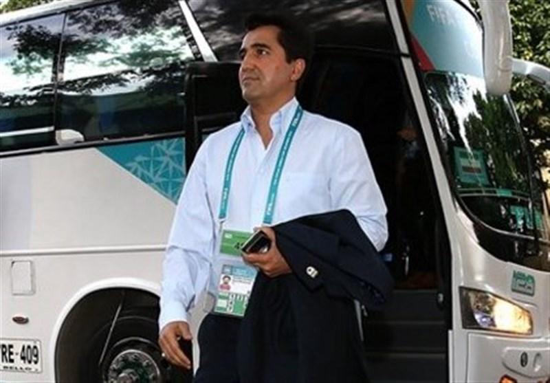 ناظمالشریعه: فراموش نکنید ایران تیم بزرگی است/ میخواهیم اولین مدال جام جهانی را بگیریم