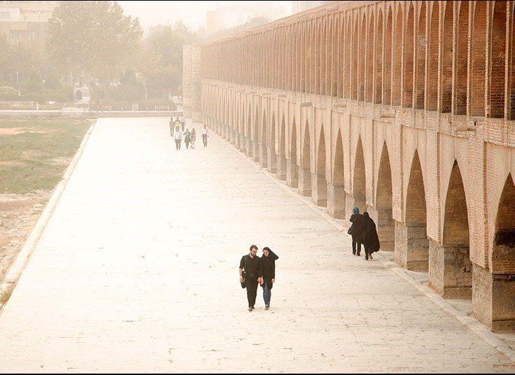 اصفهانیها پاییز امسال هم پدیده «اینورژن» را نفس میکشند
