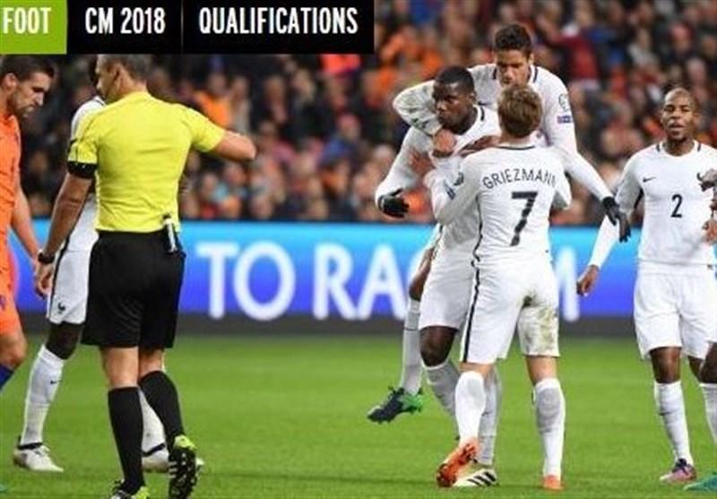 فرانسه در خانه هلند پیروز شد/ قهرمان اروپا باز هم مقتدرانه به برتری رسید