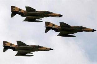 ششمین رزمایش فدائیان حریم ولایت نیروی هوایی ارتش در اصفهان آغاز شد