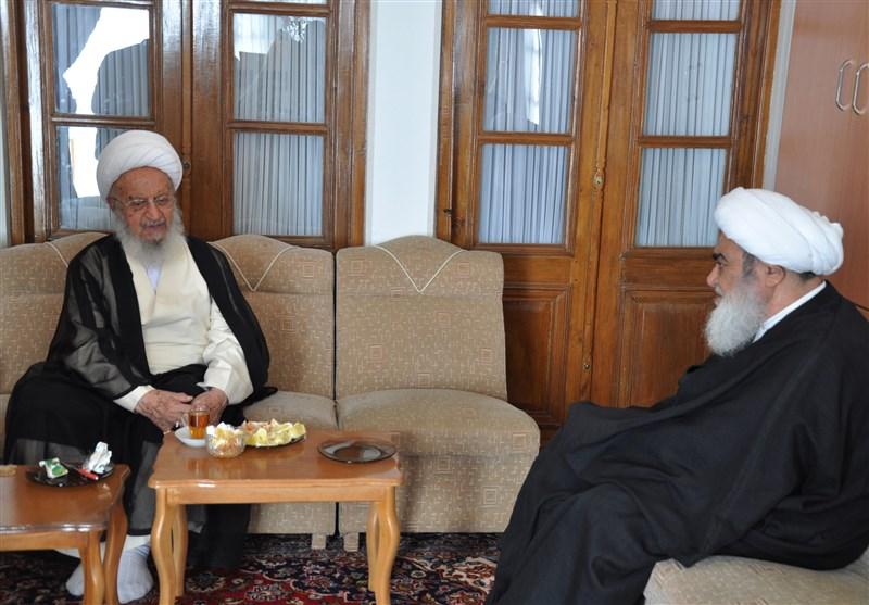 تأکید بر ضرورت مواجهه برنامهریزی شده با فرقههای انحرافی در دیدار آیتالله مکارم شیرازی با رئیس حوزه علمیه اصفهان