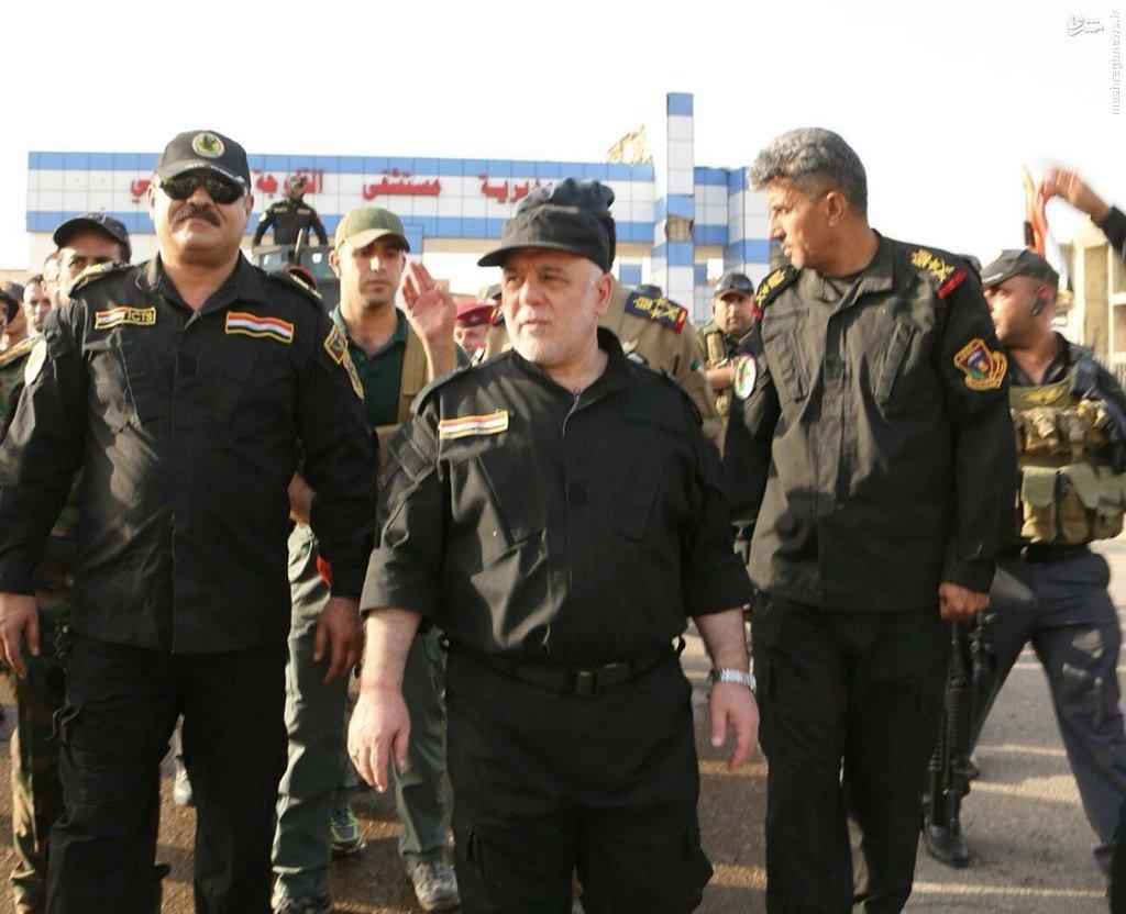 تلاش ناکام تروریستها برای ترور العبادی