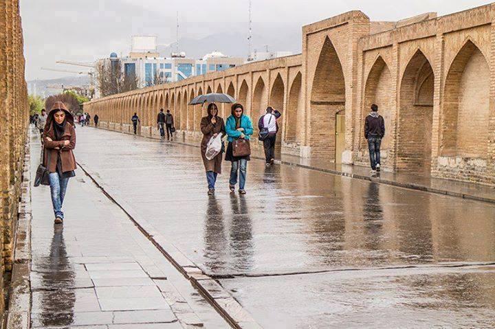 ورود سامانه بارشی جدید به استان اصفهان از امروز