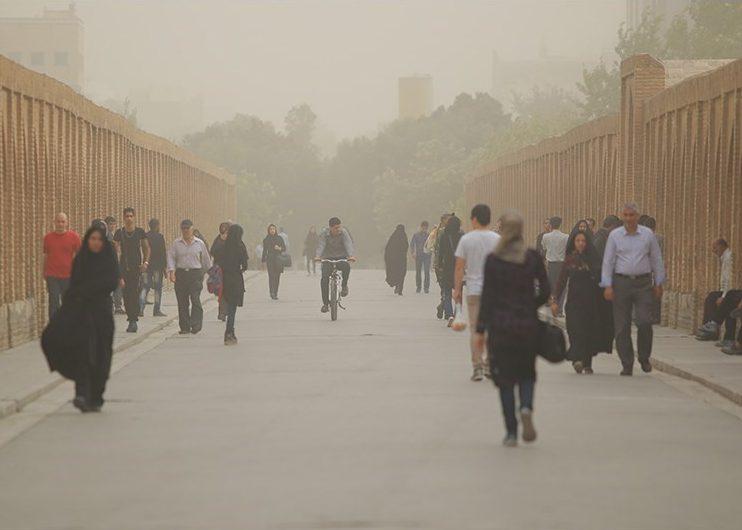 یک روز ناسالم دیگر در اصفهان/افزایش آلودگی هوا در ۳ روز آینده