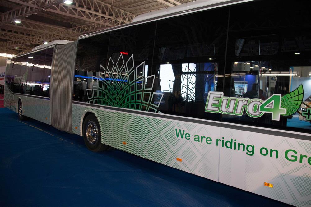 ۵۰۰ اتوبوس یورو ۴ وارد ناوگان اتوبوسرانی اصفهان میشود+تصاویر