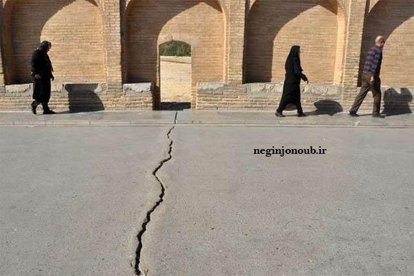 تکذیب خبر منتشر شده در فضای مجازی/ترک سیوسهپل مربوط به آسفالت روی پل است