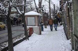 بارش برف ۱۲ سانتیمتری در گلپایگان و خوانسار/دمای شهرستان میمه به ۱۲ درجه زیر صفر رسید