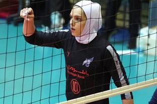 اولین لژیونر والیبالیست بانوان اصفهانی است