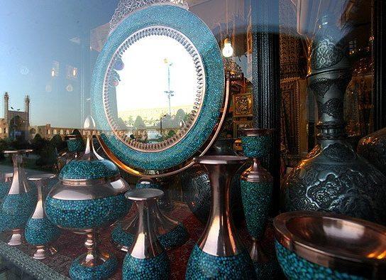 دل پُر درد تولیدکنندگان از شرایط صنایع دستی در اصفهان
