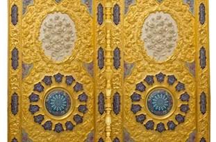 تجلی 6 هنر اصفهان در 4 درب حرم امامین عسگریین(ع)