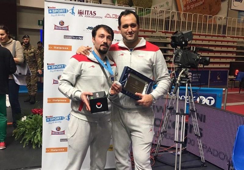 عابدینی: ایستادن در رده چهارم جهان در تاریخ شمشیربازی ایران بیسابقه است