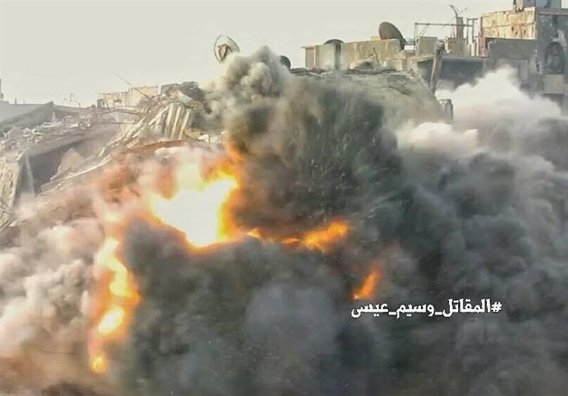 عملیات منحصر به فرد«یگانهای ویژه» ارتش در محله «جوبر» + تصاویر