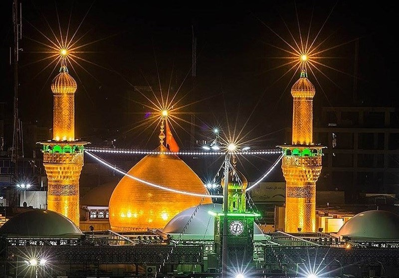 بازدید سردار سلیمانی از کارگاه ساخت گنبد جدید حرم امام حسین(ع) + تصاویر