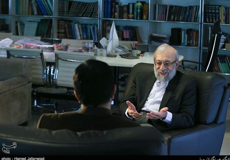 لاریجانی: چالش انتخاباتی روحانی جدی است