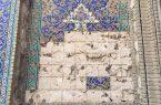 وقتی کاشیهای نفیس ابنیه تاریخی اصفهان به دست سودجویان میافتد