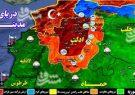 در مناطق اشغالی شمال سوریه چه می گذرد؟/ ۴۶۰ کشته و زخمی نتیجه ۱۰ روز درگیری تروریست های تحریرالشام و نورالدین زنکی + نقشه میدانی