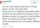 پشت پرده همزمانی حمله تروریستی سیستان و بلوچستان و اجلاس ضد ایرانی ورشو