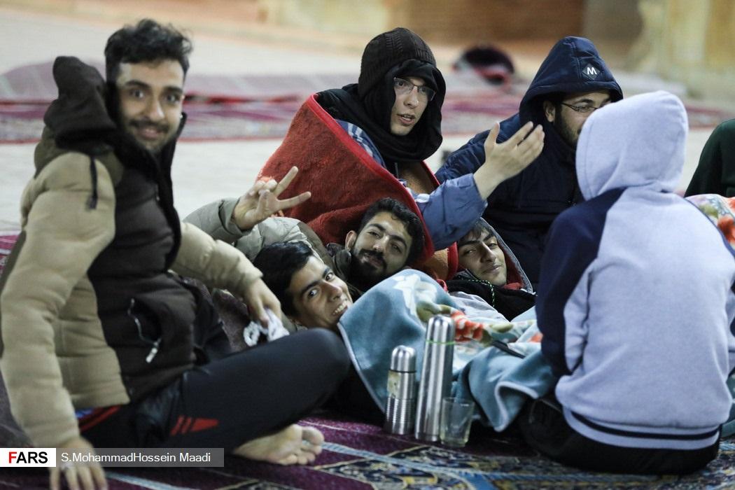 اعتکاف در مسجد جامع اصفهان