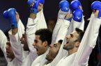 نایبقهرمانی تیم مردان ایران با کسب سه مدال رنگارنگ