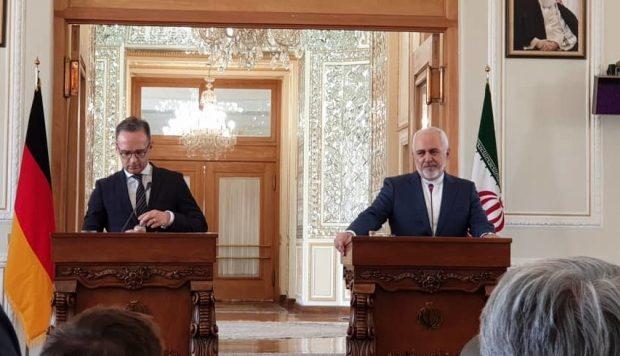 اظهارات سخیف و مستکبرانه وزیرخارجه آلمان در دیدار با ظریف: ما به تعهداتمان عمل نکردیم اما شما باید به برجام عمل کنید!/ با برنامه دفاعی ایران هم مخالفیم