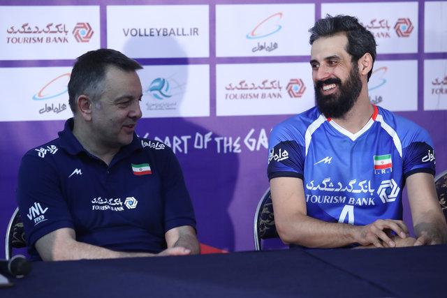 من را بکُشید اما به ملیپوشان والیبال ایران احترام بگذارید