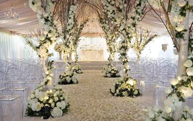 سیر تا پیاز عروسیهای لاکچری از نوع «چشمدرآر»! +تصاویر