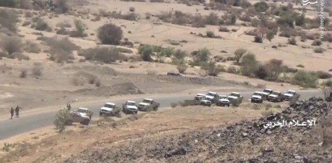 """اولین تصاویر از لحظهعملیات""""نصر من الله"""" یمنیها"""