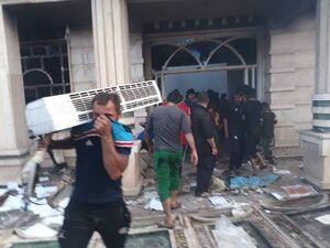 آخرین تحولات عراق ۶ روز پس از آغاز دور دوم اعتراضات / کدام جریان سیاسی مسلح به دنبال برکناری عادل عبدالمهدی است؟ + عکس و نقشه