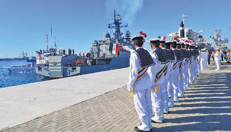 پیامی که تهران با مانور مشترک دریایی به جهان داد