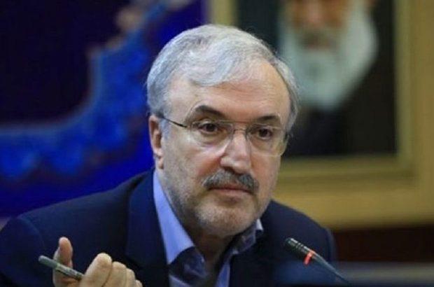 نامه گلایهآمیز وزیر بهداشت به رییس شورای عالی امنیت ملی