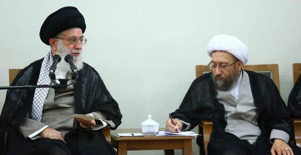 درباره دفاع رهبرانقلاب از آیت الله آملی لاریجانی