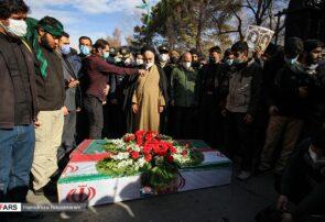 تشییع شهدای تازه تفحص شده در اصفهان